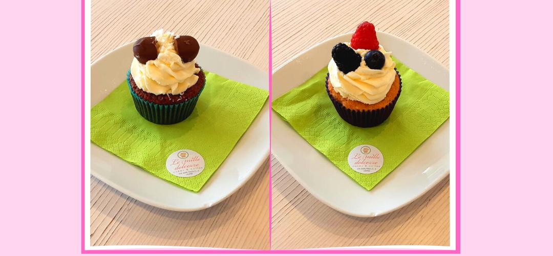 I nostri Cupcakes: Bounty e Magia del Bosco, due delizie da provare.